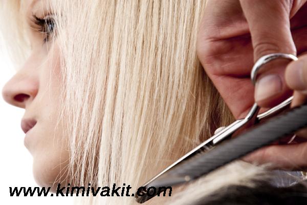 saç kırıklarının oluşma sebebi, saç kırığı nasıl oluşur, saç kırığı oluşması