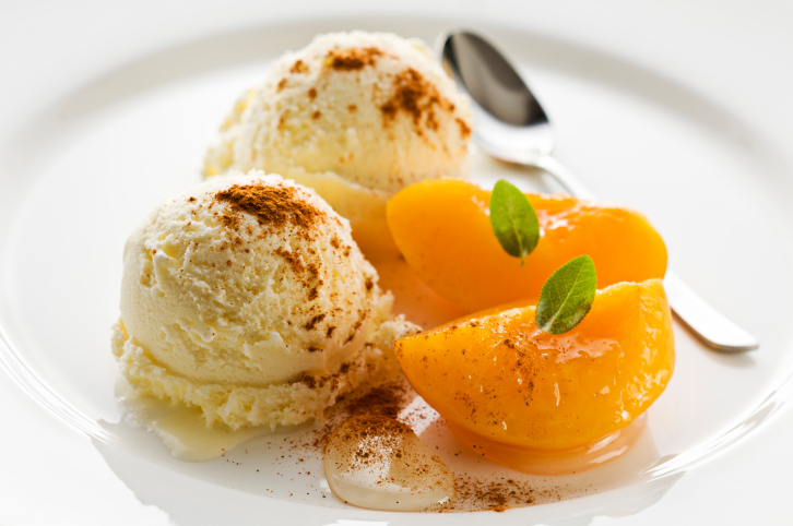 dondurma tarifi, portakallı dondurma, portakallı dondurma yapımı